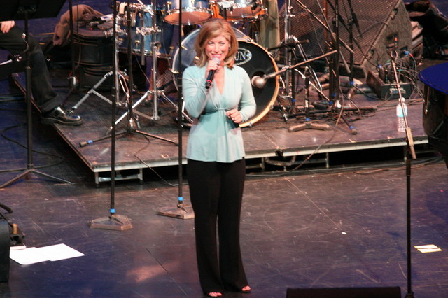 CSN Founder Lori Maier starts the 20th Anniversary show.