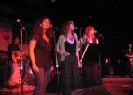"Barb sings ""Fell In Love w/a Boy"". Alaria, Carmen & Ellen with killer backup vox."