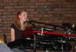Lindsay on keyboard; she is truly multi-talented!