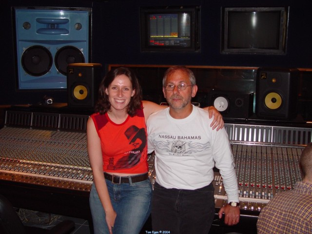 Elliot and Edie wrapping up at Studio 2