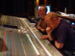Poring over the master console