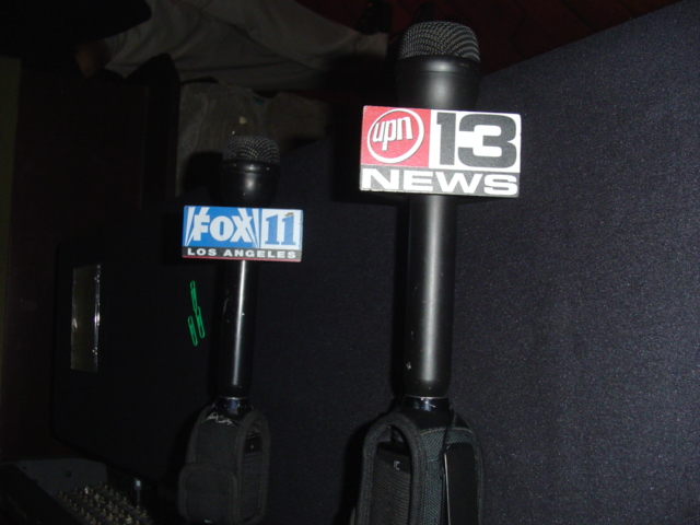news mics ready to go