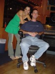 Carla and Assistant Engineer Jeff Robinette