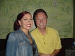 Laurna Michael and her fabulous manager Mike