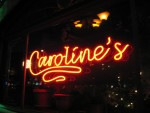 Our first show at Caroline's... great crowd, great club!