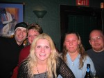 Windy with friends and family after the show...she brought out a great crowd too!