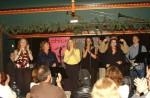 End of show...all artists back onstage. Great night! photo by David H. Pruszka.