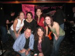 Great group pic after the show. L>R: Julie Moffitt, Nikki Capra, Kira Small, Anna Bohn, Joel Kopischke, Alaria Taylor.