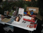 The merchandise table~