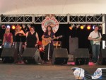"""Closing up the last set, Alaria plays """"Drowning In His Own Life"""". The band and chicks were fabulous!"""
