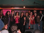 All artists onstage after the show... Great night!