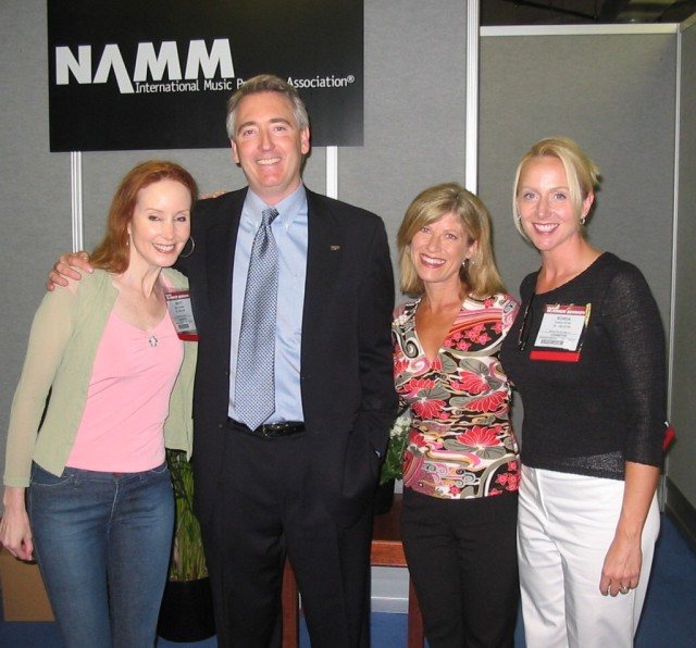 CSN personally thanks NAMM President/CEO Joe Lamond for the generous grant to Breathe and CSN.