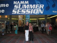 Highlight for Album: CSN at the 2004 Summer NAMM show in Nashville