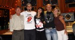 Al Schmitt, Jay Condiotti, Nadia Fay, Kenny Aronoff and  Lori Maier