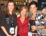 (L to R) Minneapolis Director Lisa Wenger, Lori and L.A. Director Carla Hassett at Winter NAMM.