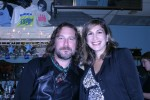 Lucky chick Kathy Ashworth with our surprise guest, John Corbett