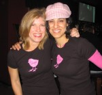 Lori and Carla show off the hot new CSN T-shirts!