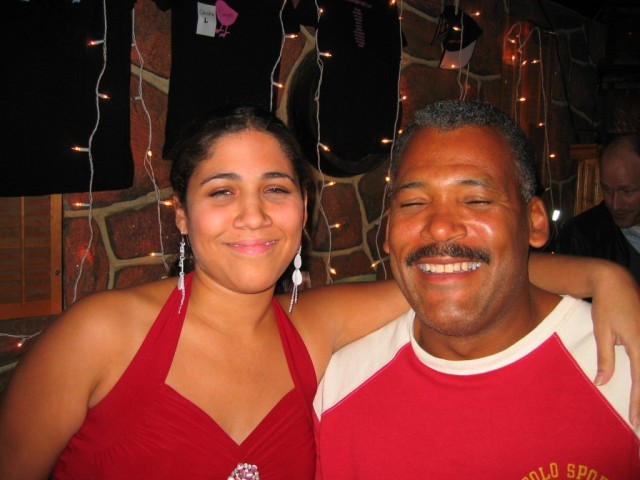 Nicole and her dad :)