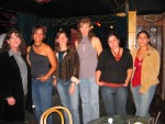 All the chicks after the show. Alaria, Rhonda, Erin, Sandra, Lisa and Nicole.