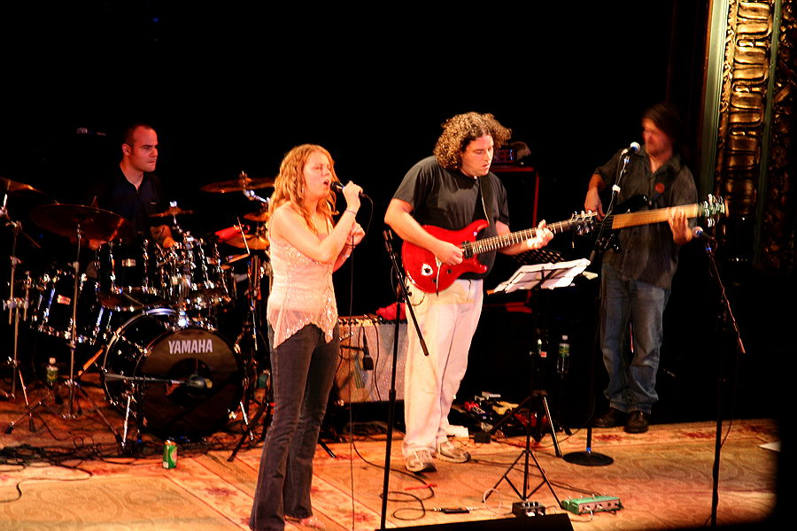 Jessica Brooks & CSN band