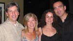 John and Lori Maier, Leslie and Ric Fierabracci at L.A.'s Catalina Bar and Grill